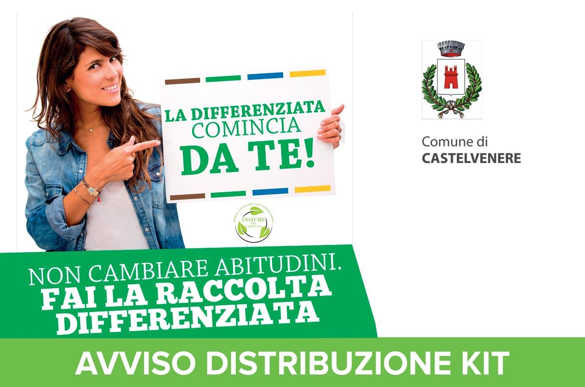 Avviso Consegna Kit Castelvenere