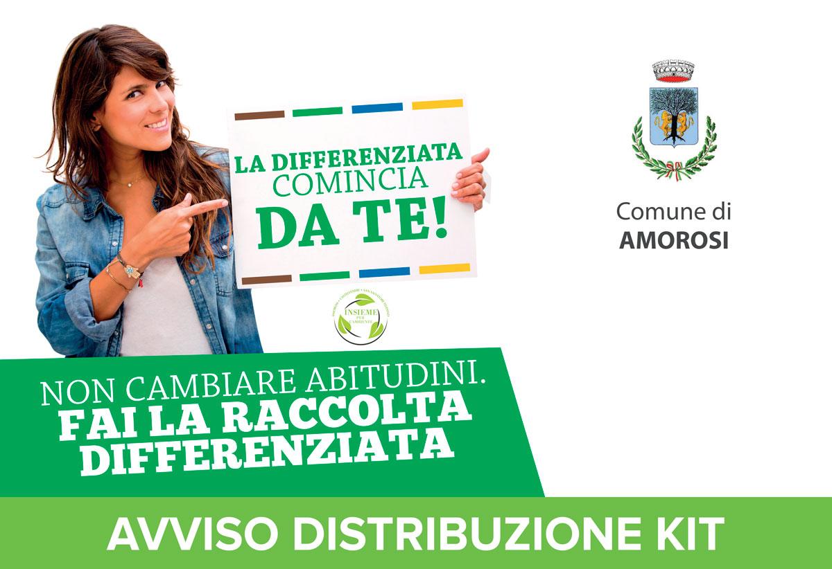 Avviso Distribuzione Kit Amorosi