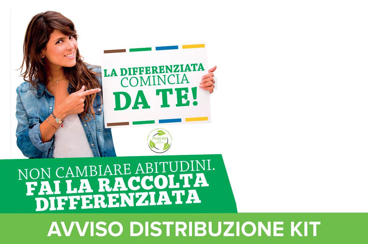 Avvisi Distribuzione KIT: Amorosi, Castelvenere, San Salvatore Telesino