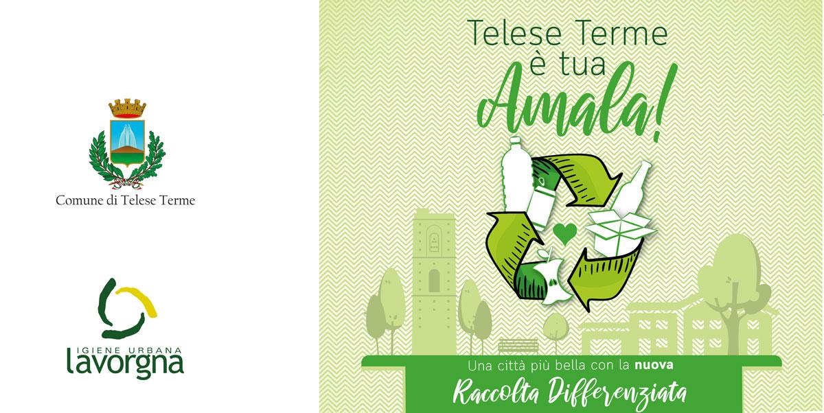 Comune di Telese – dal 1° Luglio parte il nuovo servizio di raccolta differenziata