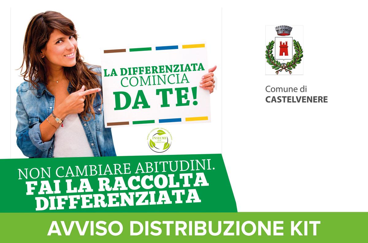 Comune di Castelvenere – Distribuzione Kit
