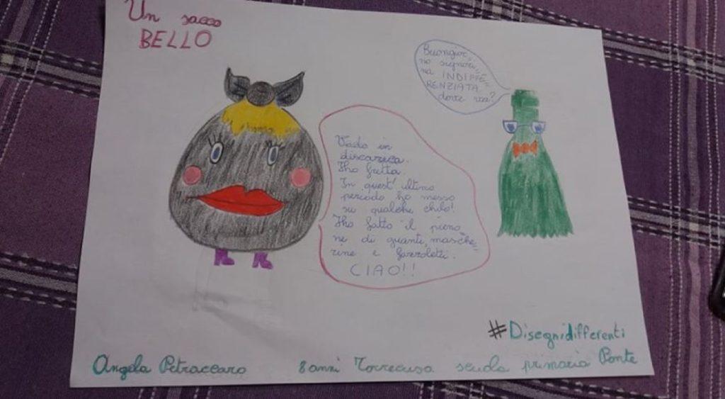 Petraccaro Angela (8 anni - scuola primaria Ponte - Torrecuso)
