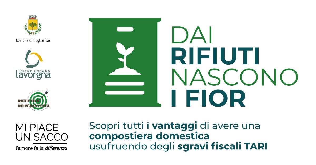 Comune di Foglianise: richiesta compostiera domestica